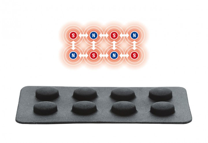 最大のポイントは「計16個の強力磁石」