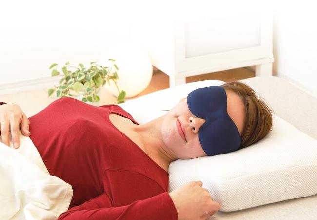 立体型アイマスク「iSleep 3D EYE MASK」