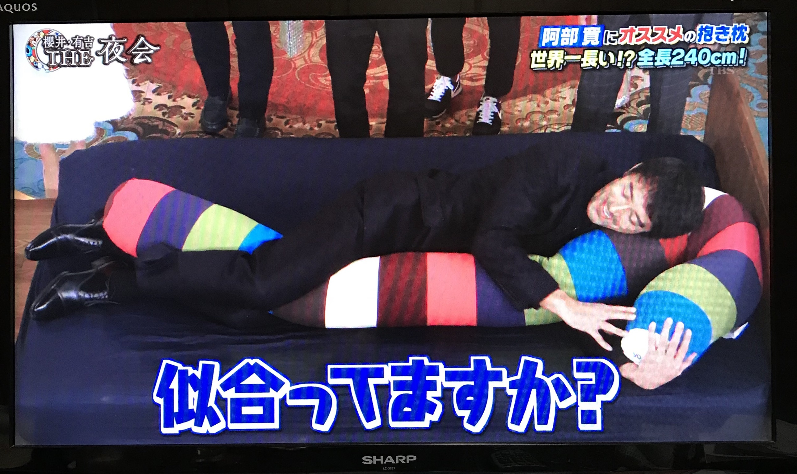 ヨギボー キャタピラー ロール ロング・阿部寛さんにおすすめ・櫻井・有吉 THE夜会