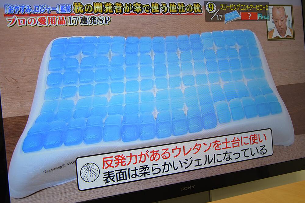 Technogel Sleeping Contour Pillow 2/テクノジェル スリーピング コントアーピロー2